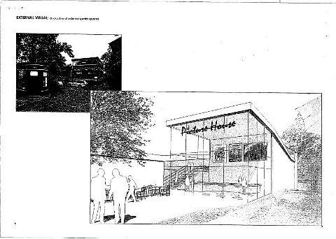 Draft design West Norwood Library cinema plans