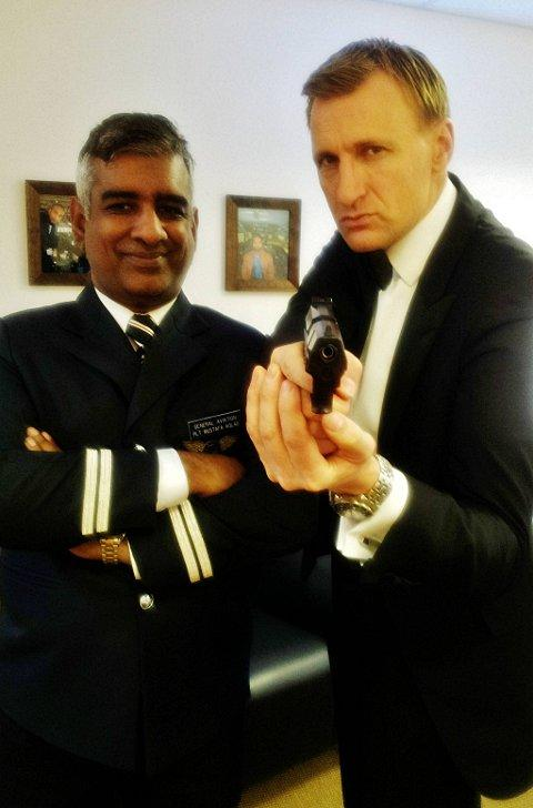 'We've Skyfall-en for each other' - Abdul Hasan and Layla Khatun to marry in Bond themed wedding