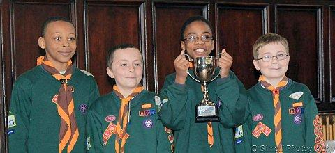 Carshalton cubs scoop two awards in a year