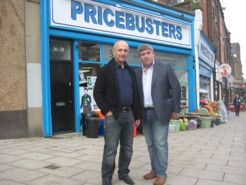 Mustafa Suleyman and Councillor Tim Crowley
