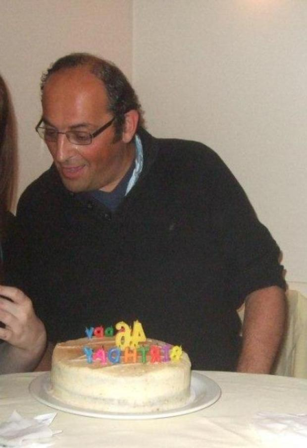 Hany Nabil Mustapha celebrated his 46th birthday the day before he went missing