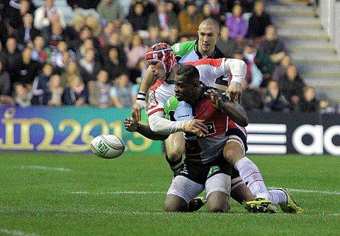 Back: Quins winger Ugo Monye is in from the cold