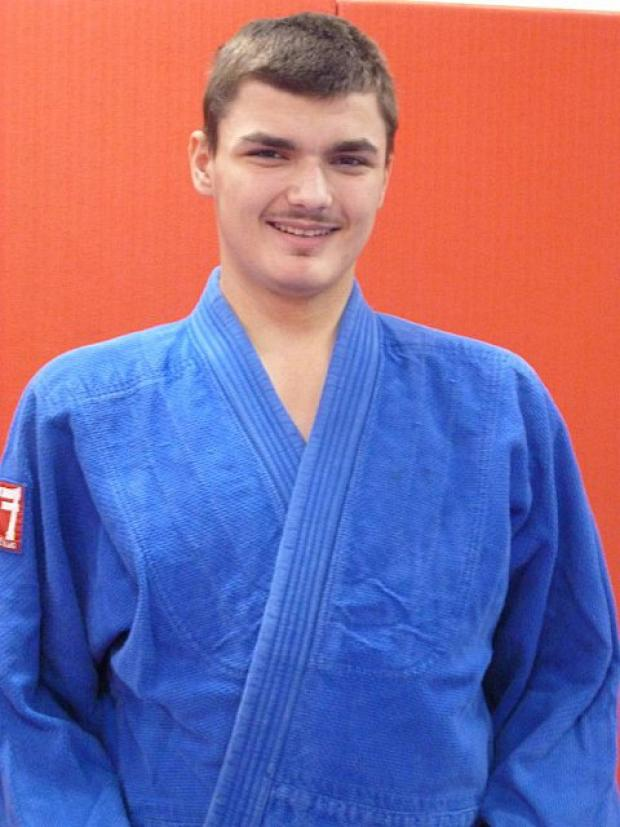 Judo star: Haris Kekic won bronze in Belgium