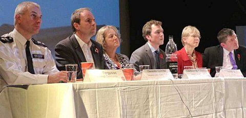Sutton residents grill panellists at Question Time
