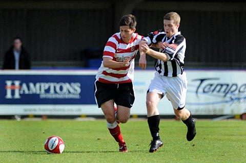 Disappointed: Kingstonian's Matt Pattison was among those left disappointed but upbeat on Saturday