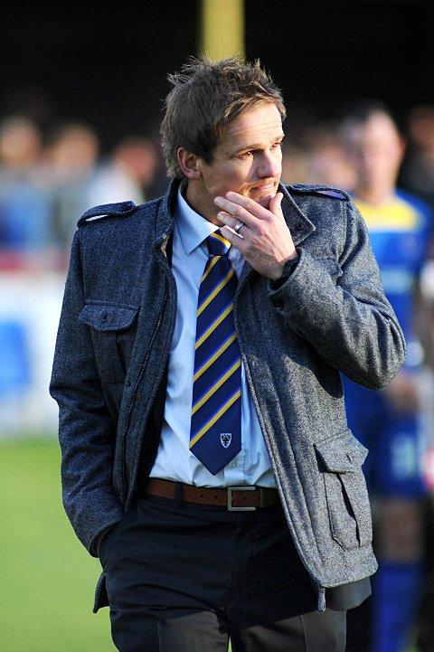 Chill out: Neal Ardley expects life to get a lot hotter ahead of cup clash