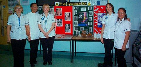 Epsom, St Helier and Sutton Hospitals mark world radiography day