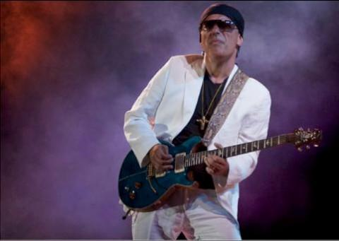 Latin band celebrate musical legend of Santana