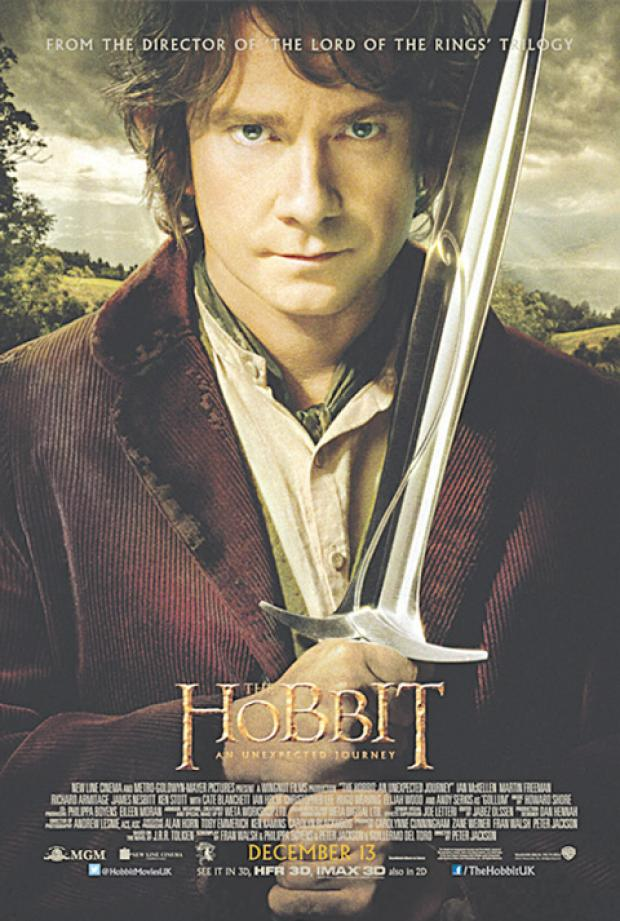 WIN! Exclusive Movie Merchandise and tickets to see the fantasy adventure 'The Hobbit'