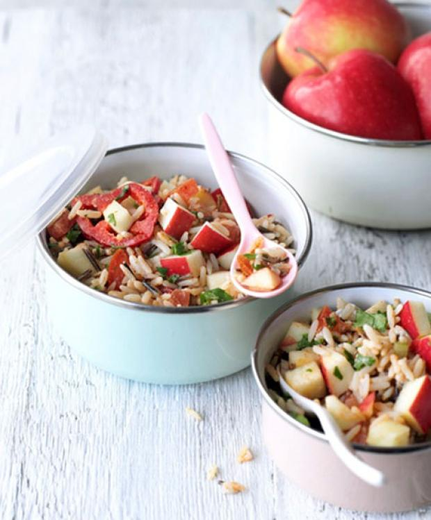 Recipe: Chilean Spicy Pink Lady Apple Rice Salad