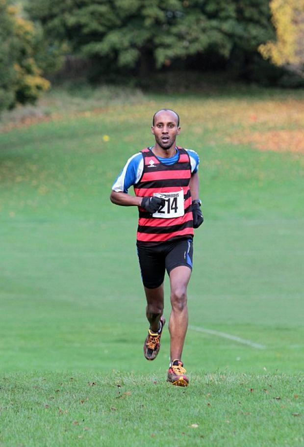 Sutton Guardian: Busy weekend: Harriers' Mohammed Ismail