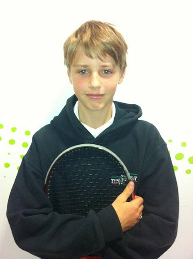 Sutton Guardian: Star of the future: Emile Hudd from Sutton has been selected for the Lawn Tennis Association's (LTA) Aegon FutureStars programme