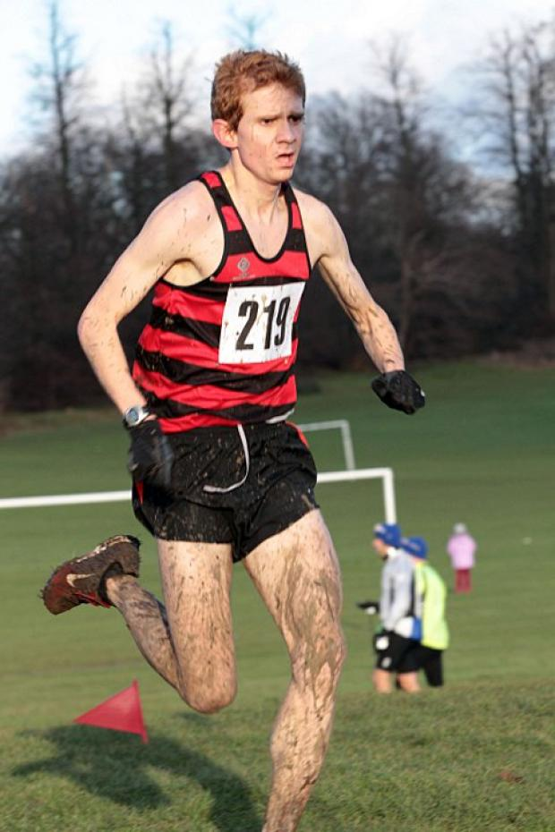 Back from injury: Herne Hill Harrier Chris Busaileh       SP54923