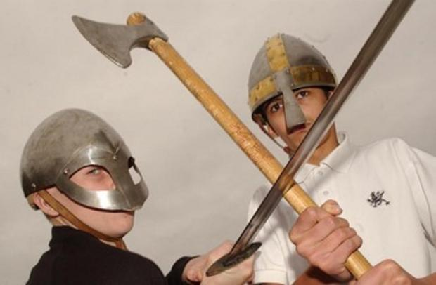 A vicious viking warrior will be visitng the Bourne Hall Museum Kids' Club in Ewell