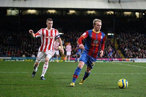 High praise: On his return from injury, Jonny Williams caught Holloway's eye   SP72883