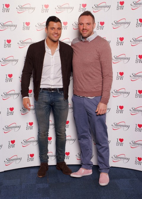 TOWIE's Mark Wright meets Sutton slimmer Paul Glass