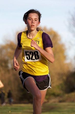 England call-up: Sophie Freeman from Caterham will race for England at the the McCain UK Cross Challenge U20 Series in Antrim