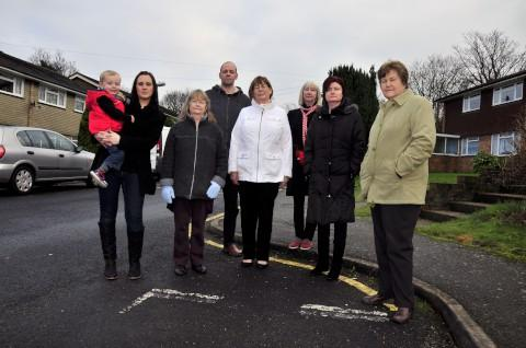 Campaigners called for an increase in visitor parking