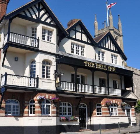 Honoured: The Bell Inn is among some culinary heavyweights