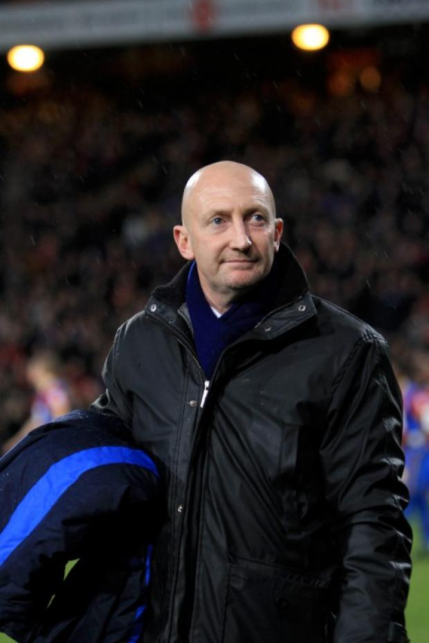 Free-flowing football: Holloway is not the type to throw tea cups at half-time