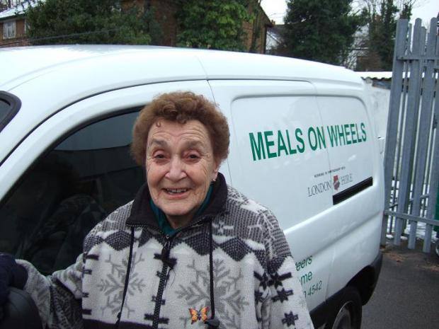 Sutton and Wallington volunteers brace frosty conditions to deliver Meals on Wheels