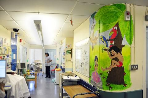St Helier Hospital has an 18-bed children's ward