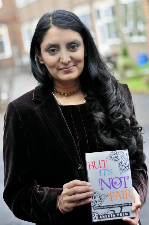 Author Aneeta Prem spoke about her book But It's Not Fair