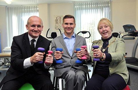 Six-time Paralympic gold medallist and wheelchair-bound Wallington resident David Weir officially opened Jubilee Health Centre in Wallington last year