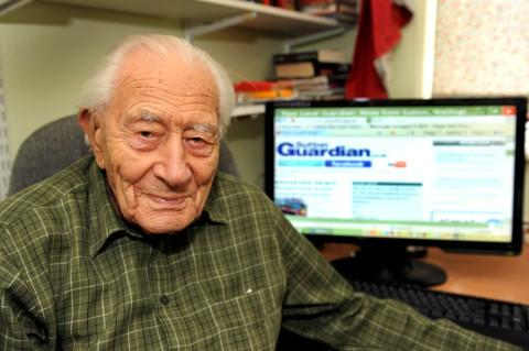 Sutton's oldest man Alfred Gibbens dies at 106