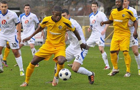 Sutton Guardian: Impressive start: James Folkes caught the eye on his debut for United    SP73057