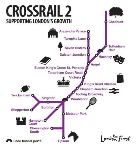"Sutton Guardian: ""Kingston to central London in 22 minutes"" - new Crossrail proposals backed by Boris"