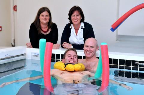 St Anthony's private hospital in North Cheam starts aquatic physiotherapy