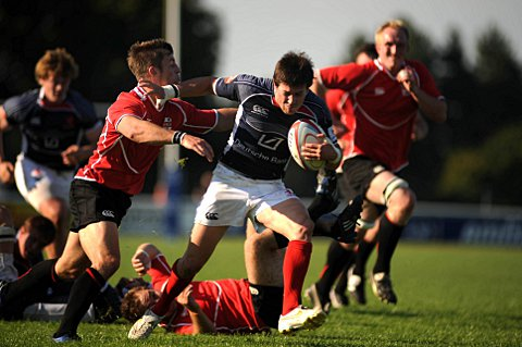 Enjoying rugby again: Matt Heeks is revelling in his call up to the England Counties side SP61404