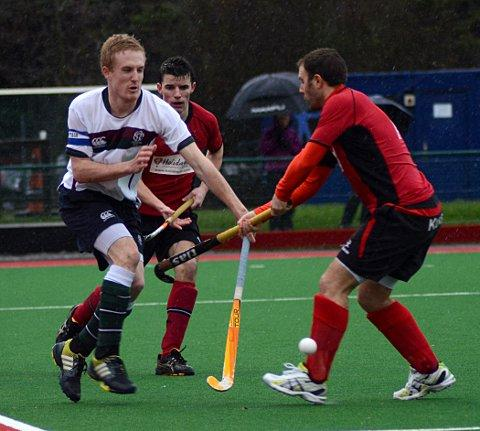 New man: New Surbiton men's captain Ben Tibble, left