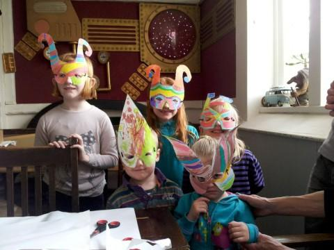 Masked Avengers: Kids choose their Seething Guild