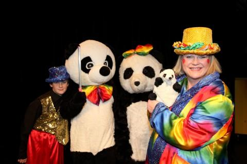 Mr Panda and Rainbow Big Bottom at Charles Cryer Studio Theatre, Carshalton