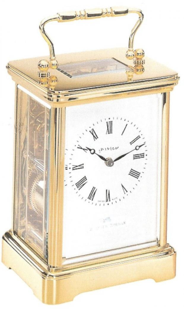 Valuable carriage clock stolen during burglary in Cheam Road, Sutton