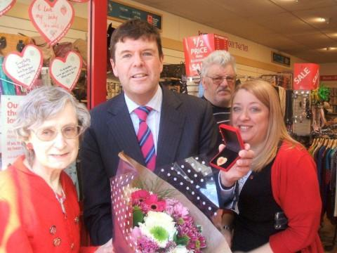 MP shows support for British Heart Foundation