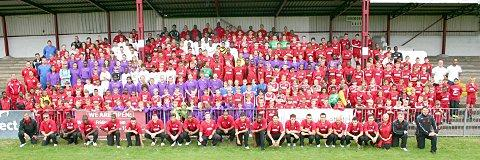 One big family: Carshalton Athletic boasts more than 500 footballers of all ages