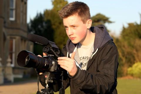 From schoolboy to documentary producer
