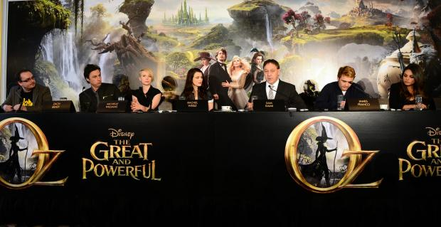 The cast of Oz the Great and Powerful