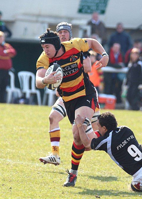 Richmond edge nine-try thriller against Fylde in National League One