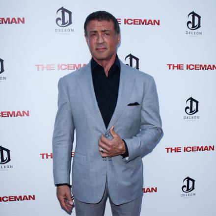 Loves the underdog: Rocky star Sylvester Stallone is backing the Eagles