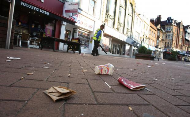 Sutton Guardian: The publicity stunt will highlight how much people litter.