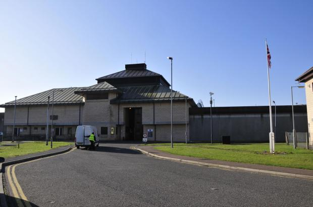 The Government has again denied that High Down prison is in crisis