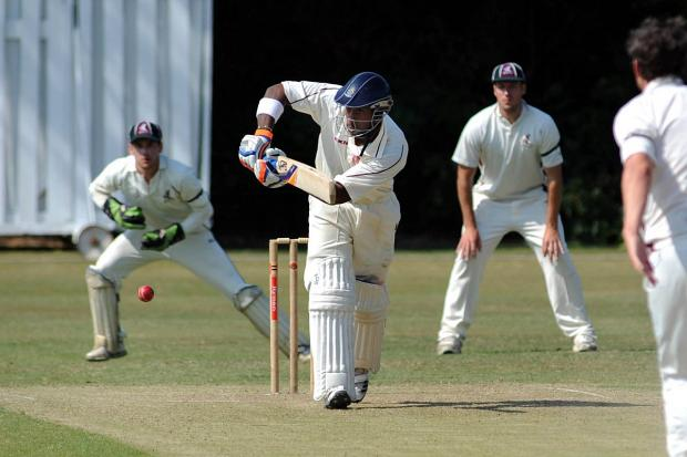 Man in form: Michael Carberry has scored 241 runs and taken eight wickets in two games for Spencer