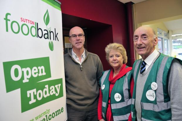 Sutton Guardian: Sutton Foodbank volunteers will be at Kingston Food Festival this weekend