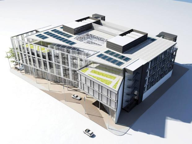 Sutton Guardian: SubSea 7's plans for new offices in the Brighton Road car park