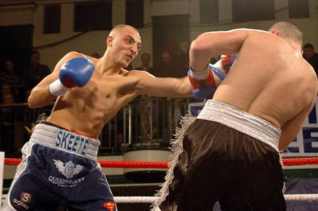 Step up: Bradley Skeete from Battersea is ready for the biggest challenge of his career so far