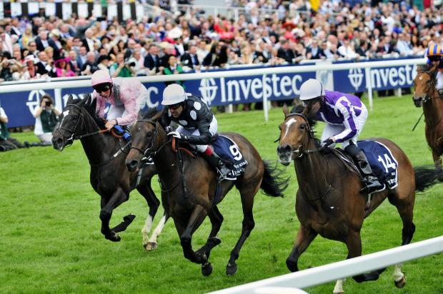 Sutton Guardian: Horse racing at the Epsom Derby in 2012